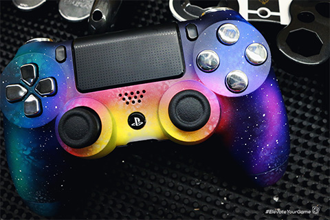 Galaxy Playstation 4 Custom Controllers Controller Chaos