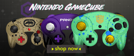 Build Your Own Nintendo Gamecube Custom Controllers