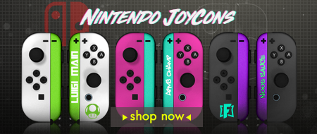 Build Your Own Nintendo Switch Joy-Cons Custom Controllers