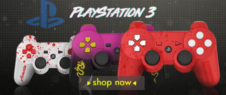 Build Your Own PlayStation 3 Custom Controllers