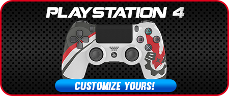 BxA Gaming Playstation 4 Custom Controllers