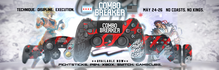 Combo Breaker 2019 - No Coasts No Kings - Custom Controllers