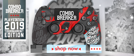PlayStation 4  Combo Breaker 2019 - No Coasts No Kings - Custom Controller