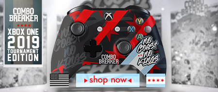 Xbox One Combo Breaker 2019 - No Coasts No Kings - Custom Controller