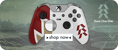 Hunters Destiny Xbox One Elite Custom Controllers