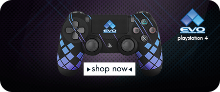 EVO Championship Series 2017 Playstation 4 Custom Controllers