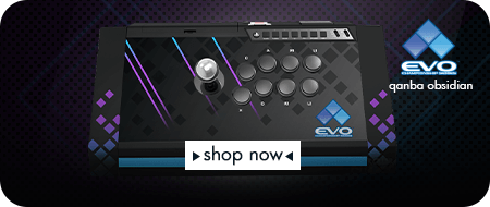 EVO Championship Series 2017 Qanba Obsidian Fight Stick