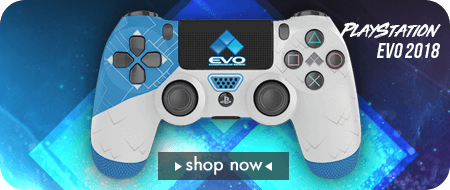 EVO Championship Series 2018 Playstation 4 Custom Controllers