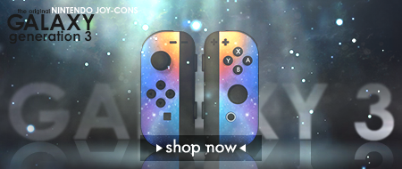 Galaxy Edition Nintendo Switch Joy-Cons Custom Controllers