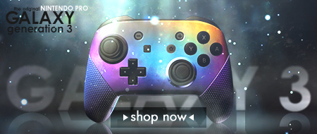 Galaxy Edition Nintendo Switch Pro Custom Controllers