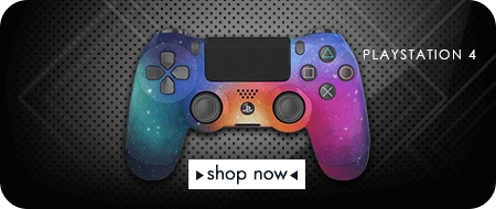 Galaxy Edition PlayStation 4 Custom Controllers