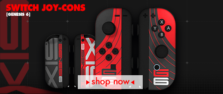 Genesis 6 Nintendo Switch Joy-Cons Custom Controllers