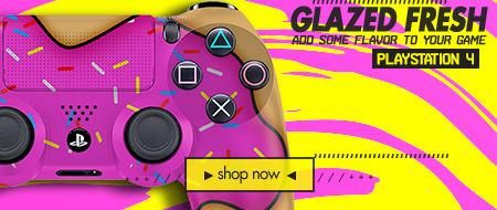 Glazed Fresh Donut  - Custom Controllers
