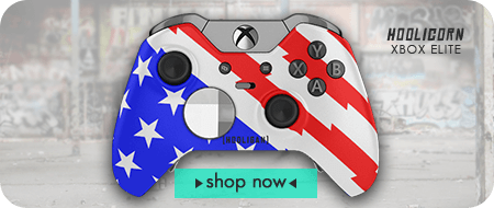 HOOLIGAN Racing Series Exclusive Custom Controllers