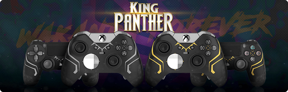 King Panther Exclusive Custom Controllers