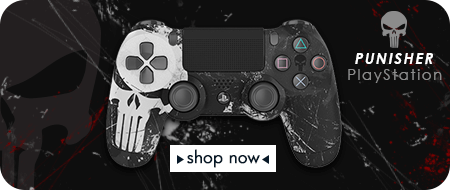 Punisher - Playstation 4 - Custom Controllers