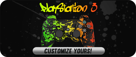 Rasta PlayStation 3 Custom Controllers
