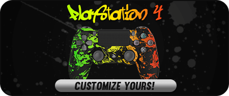 Rasta PlayStation 4 Custom Controllers