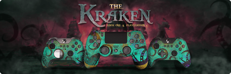 Sea of Thieves: The Kraken Exclusive Custom Controllers