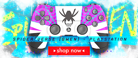 Spider Verse: Gwen Stacy PlayStation 4 Custom Controller