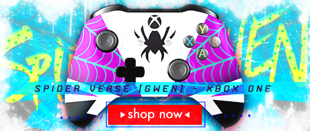 Spider Verse: Gwen Stacy Xbox One Custom Controller