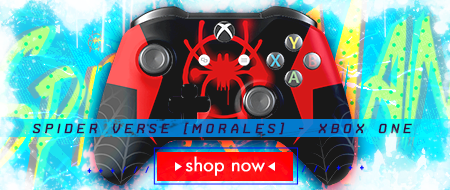 Spider Verse: Miles Morales Xbox One Custom Controller