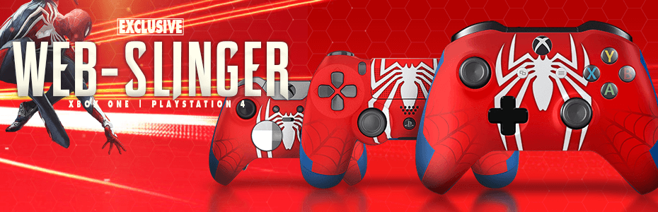 Spider-Man Custom Controllers