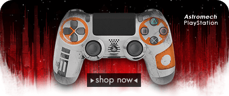 Star Wars: The Last Jedi Custom Controllers