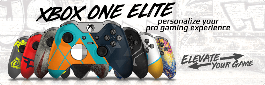 Xbox One Elite - Custom Controllers