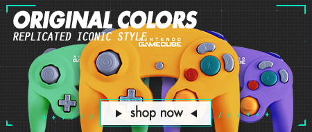 Pro Series Tournament Ready Nintendo Gamecube Custom Controllers - Original Colors