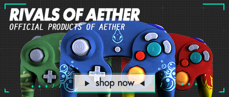 Pro Series Tournament Ready Nintendo Gamecube Custom Controllers - Rivals of Aether