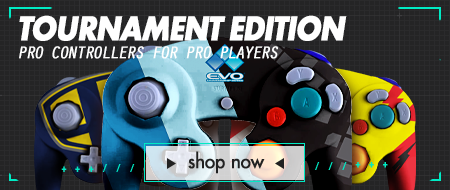 Pro Series Tournament Ready Nintendo Gamecube Custom Controllers - Tournament Edition