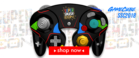 Super Smash Con 2018 Custom Controllers