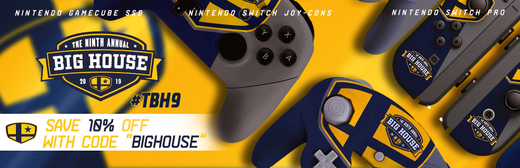 The Big House 2019 Custom Controllers
