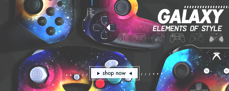 Galaxy Series Custom Controllers